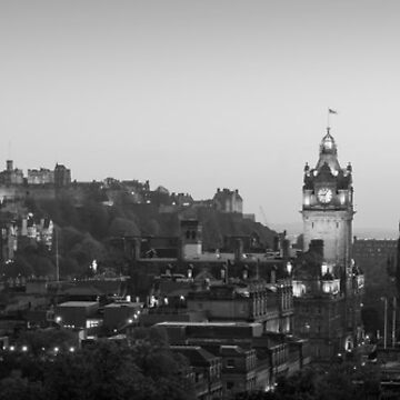 Carlton hill and castle by Jarivip