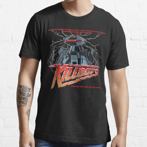 "Killbots - ""Movie Poster Art""【Horror】 Design (1986)☆VHS Gasm Video☆ Essential T-Shirt"