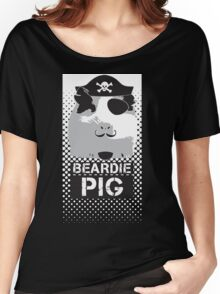 Pirate - Halftone Women's Relaxed Fit T-Shirt
