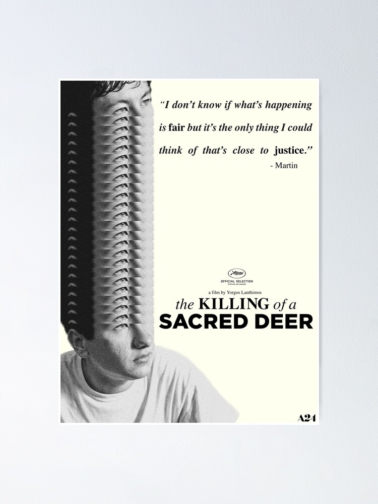 The Killing Of A Sacred Deer Poster Poster By Snozzcumbersux Redbubble