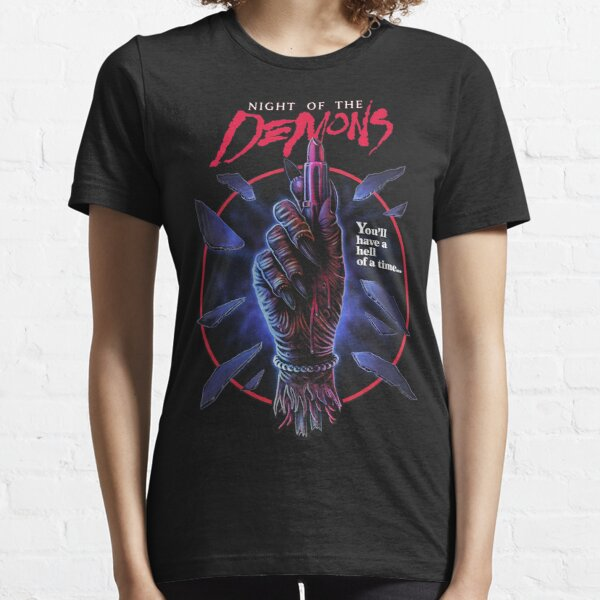 "Night of the Demons - ""Movie Poster"" 【Horror】 Design (1988) Essential T-Shirt"