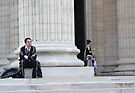 Gaucho at the Pantheon by Imagery