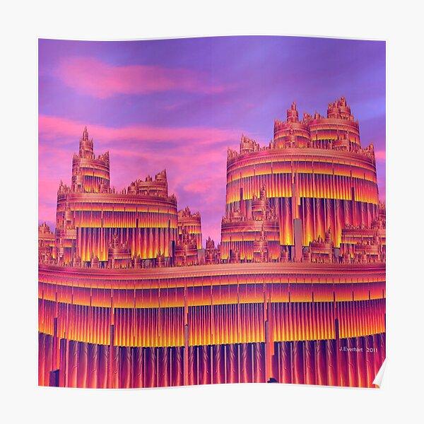 Flamboyant City Poster