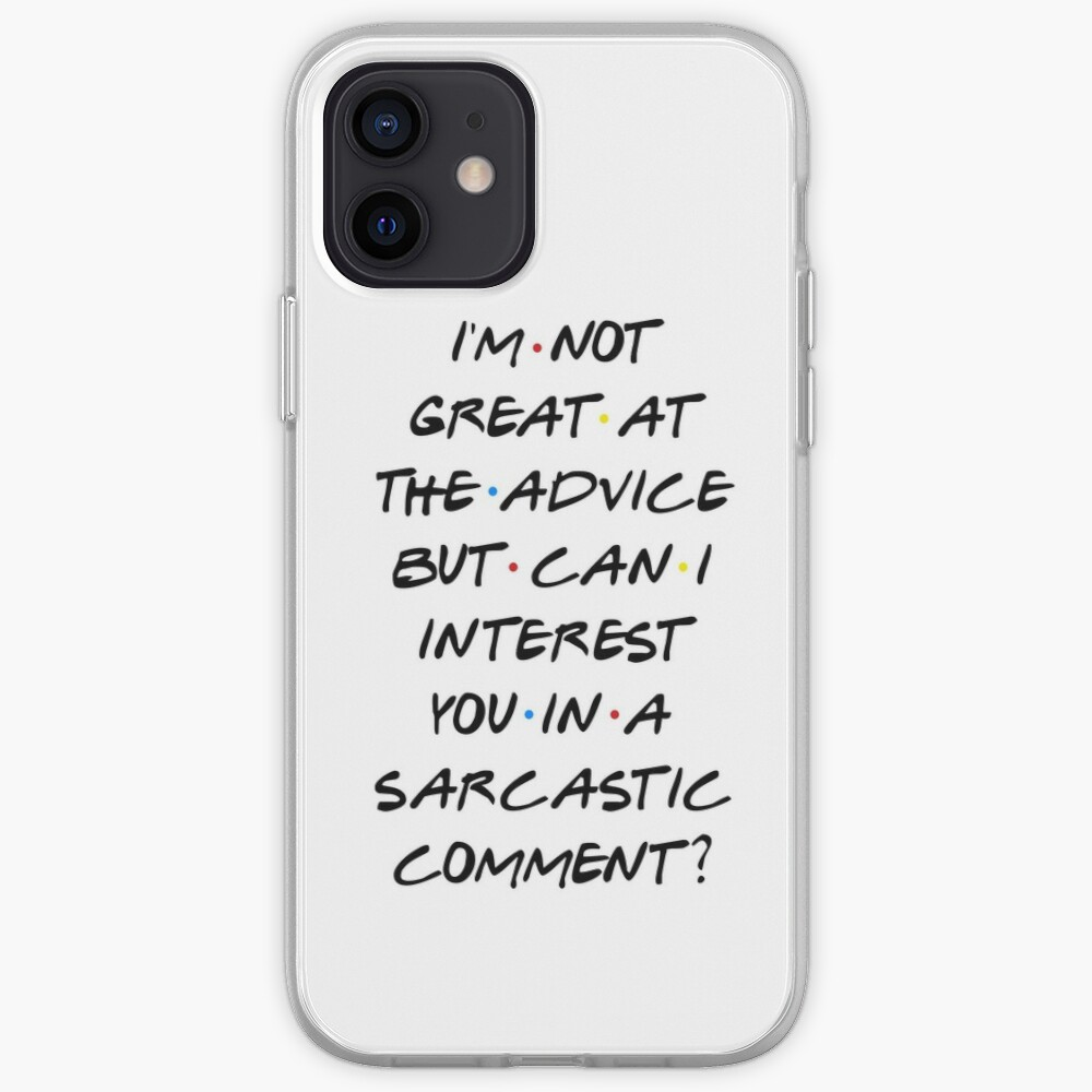 CAN I INTEREST YOU IN A SARCASTIC COMMENT? iPhone Case & Cover