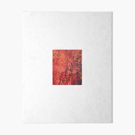 Lava Flow Art Board Print