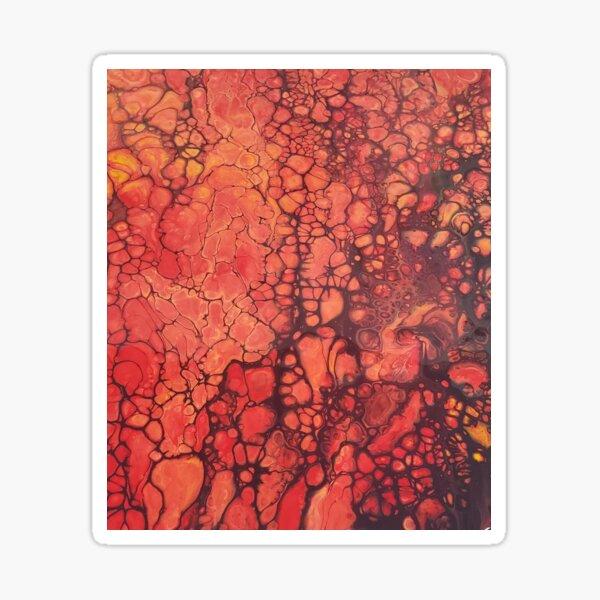 Lava Flow Sticker