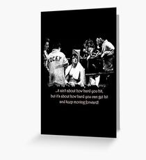 Rocky Quote #1 Greeting Card