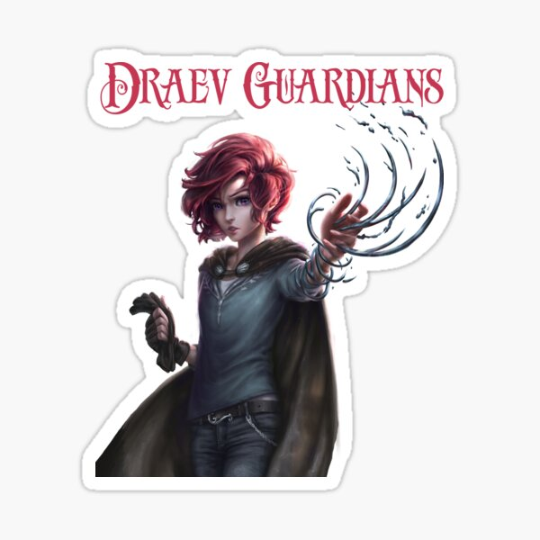 Draev Guardians Strayborn Sticker