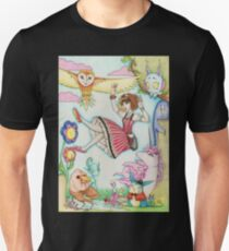 Falling into Fantasy Unisex T-Shirt