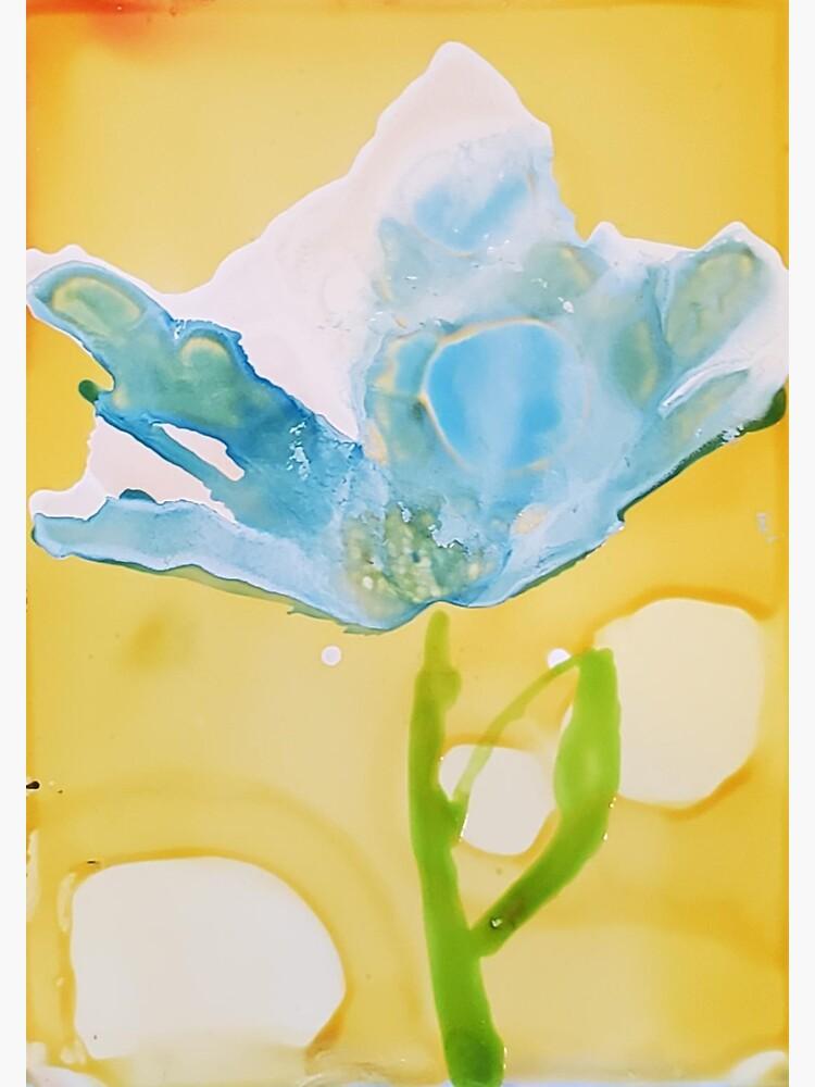 Blue Bloom by ARTwithmeAz