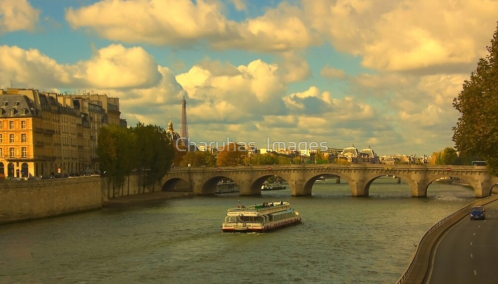 An Evening In Paris (Please Enlarge) by Charuhas  Images