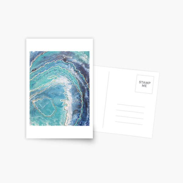 Geode Love Postcard