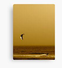 Kitesurfing Northern California Canvas Print