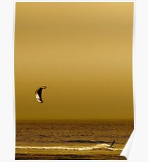 Kitesurfing Northern California Poster