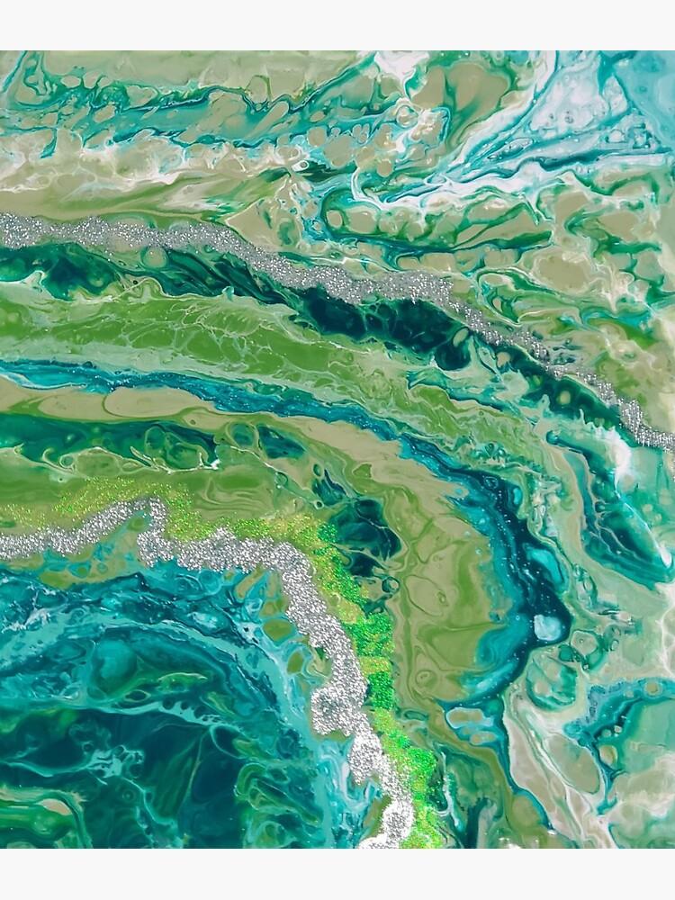 Green Geode by ARTwithmeAz