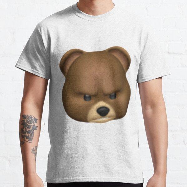 Angry bear emoji Classic T-Shirt