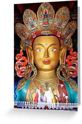 Maitreya Buddha by RajeevKashyap