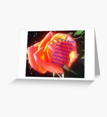 Skugter skaam Greeting Card