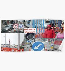weymouth traffic Poster