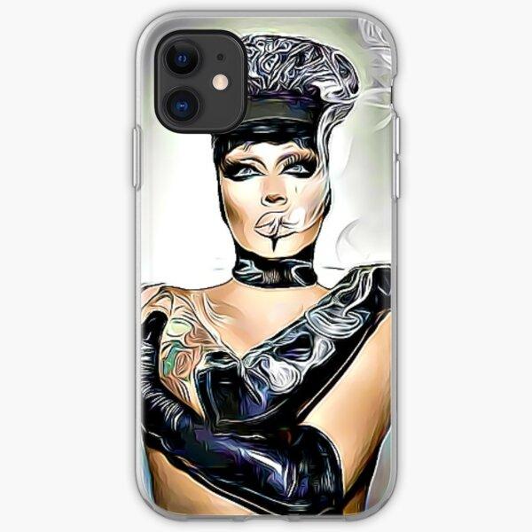 Raven Drag Queen Funda blanda para iPhone