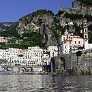 Glorious Amalfi by Steve plowman