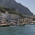Capri harbour by Steve plowman