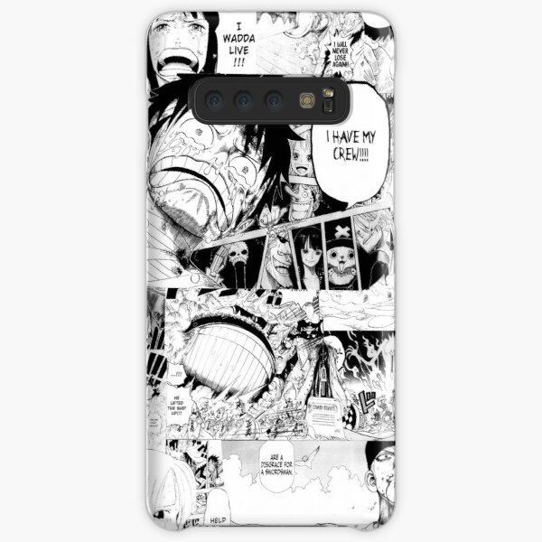 One Piece Manga Collage Samsung Galaxy Snap Case