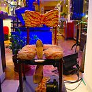 Pleasure chair....or shoe shiner! by tim norman
