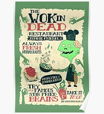 The Wok In Dead Poster