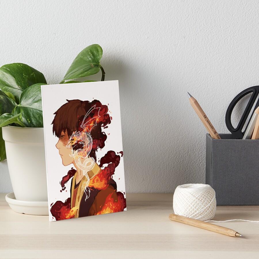 Zuko Art Board Print