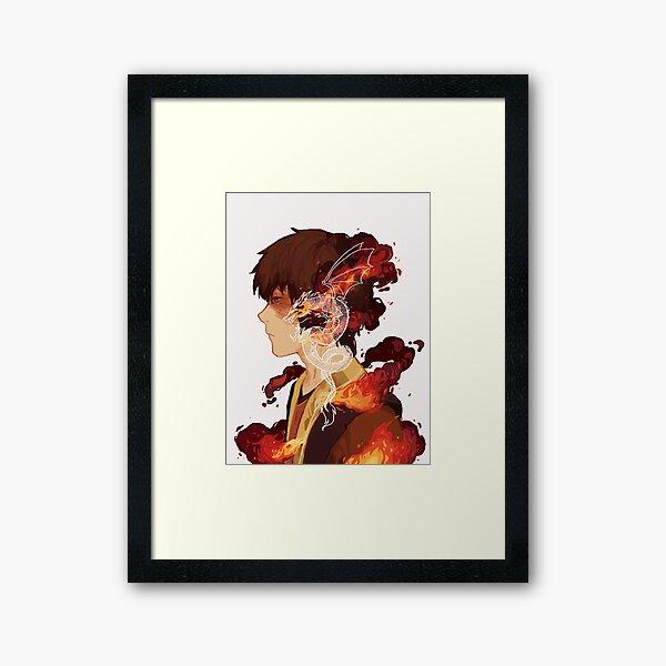 Zuko Framed Art Print