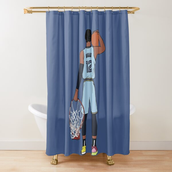 Ja Morant And The Rim Shower Curtain