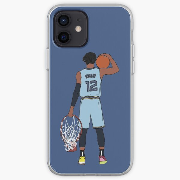 Ja Morant And The Rim iPhone Soft Case