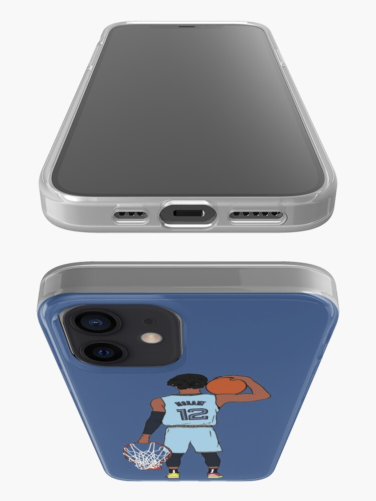 Alternate view of Ja Morant And The Rim iPhone Case & Cover