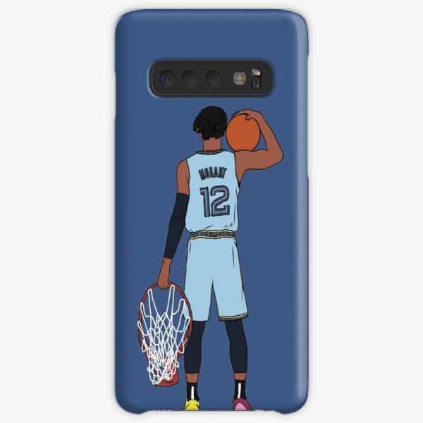 Ja Morant And The Rim Samsung Galaxy Snap Case