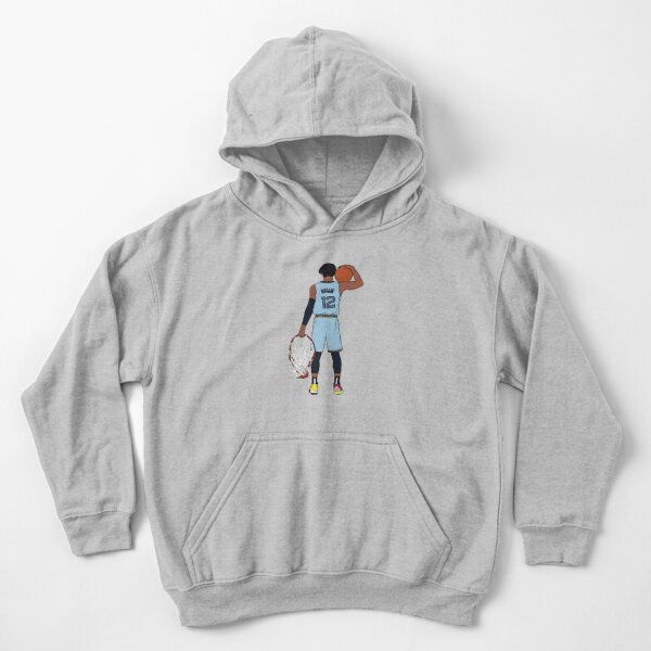 Ja Morant And The Rim Kids Pullover Hoodie