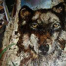 wolf with an attitude by lynnieB