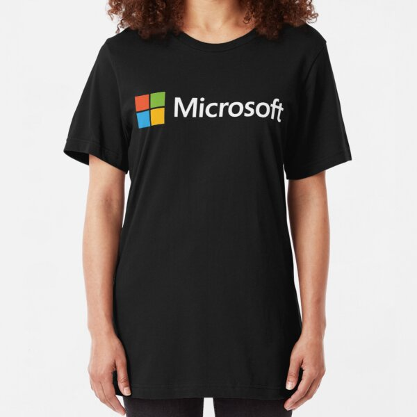 Microsoft Slim Fit T-Shirt
