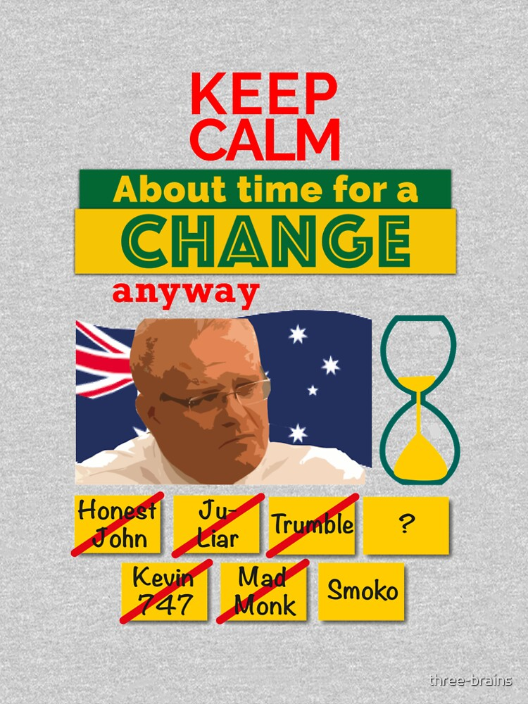 Keep calm - About time for a change by three-brains
