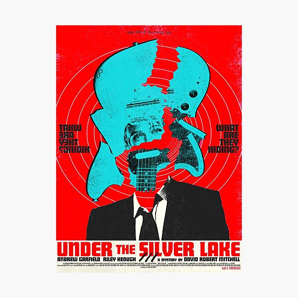 Under the Silver Lake Graphic Photographic Print