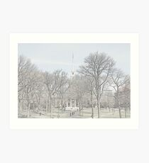 Memorial Church - Harvard Yard Art Print