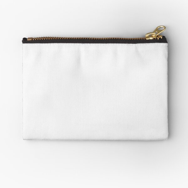 Pure White - Lowest Price On Site Zipper Pouch