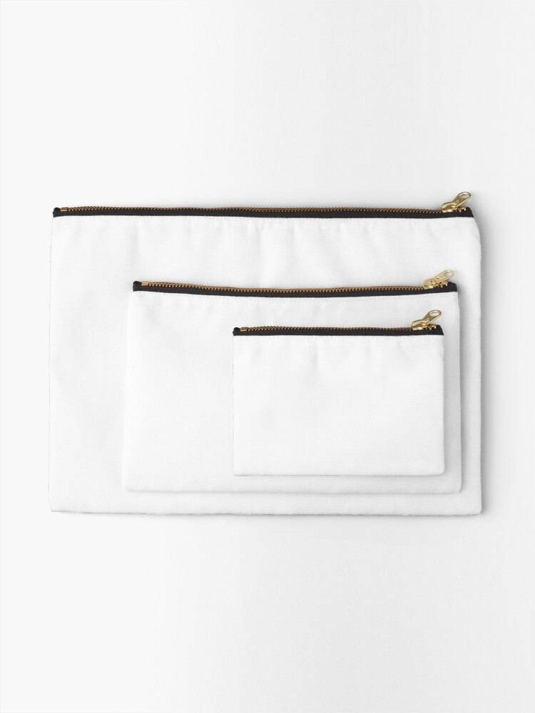 Alternate view of Pure White - Lowest Price On Site Zipper Pouch