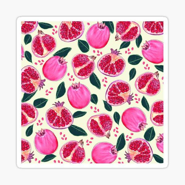 Granatapfel Sticker