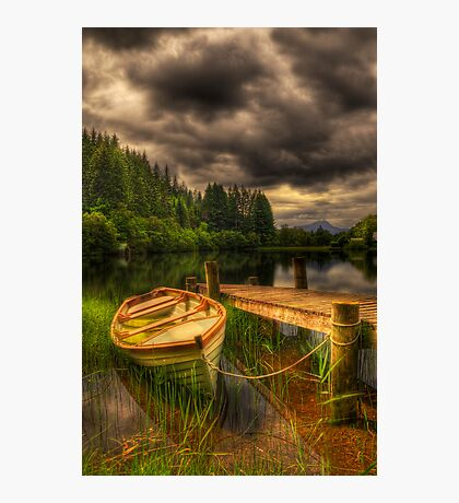 Loch Ard Jetty Photographic Print