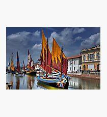 Full Sails Photographic Print