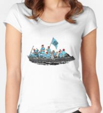 Team Zissou 2 Women's Fitted Scoop T-Shirt