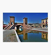 Trepponti - Three Bridges Photographic Print