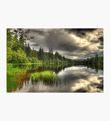 Loch Ard Reflections Photographic Print