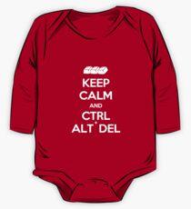 Keep Calm - Ctrl + Alt + Del One Piece - Long Sleeve